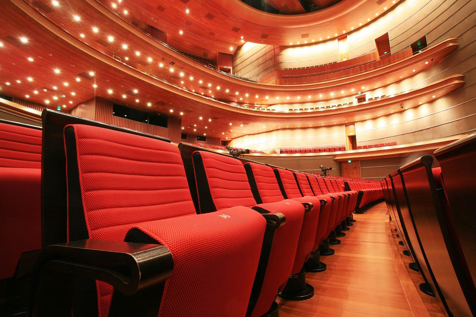 "Image from Audio - ""Che gelida manina"" containing auditorium seats."