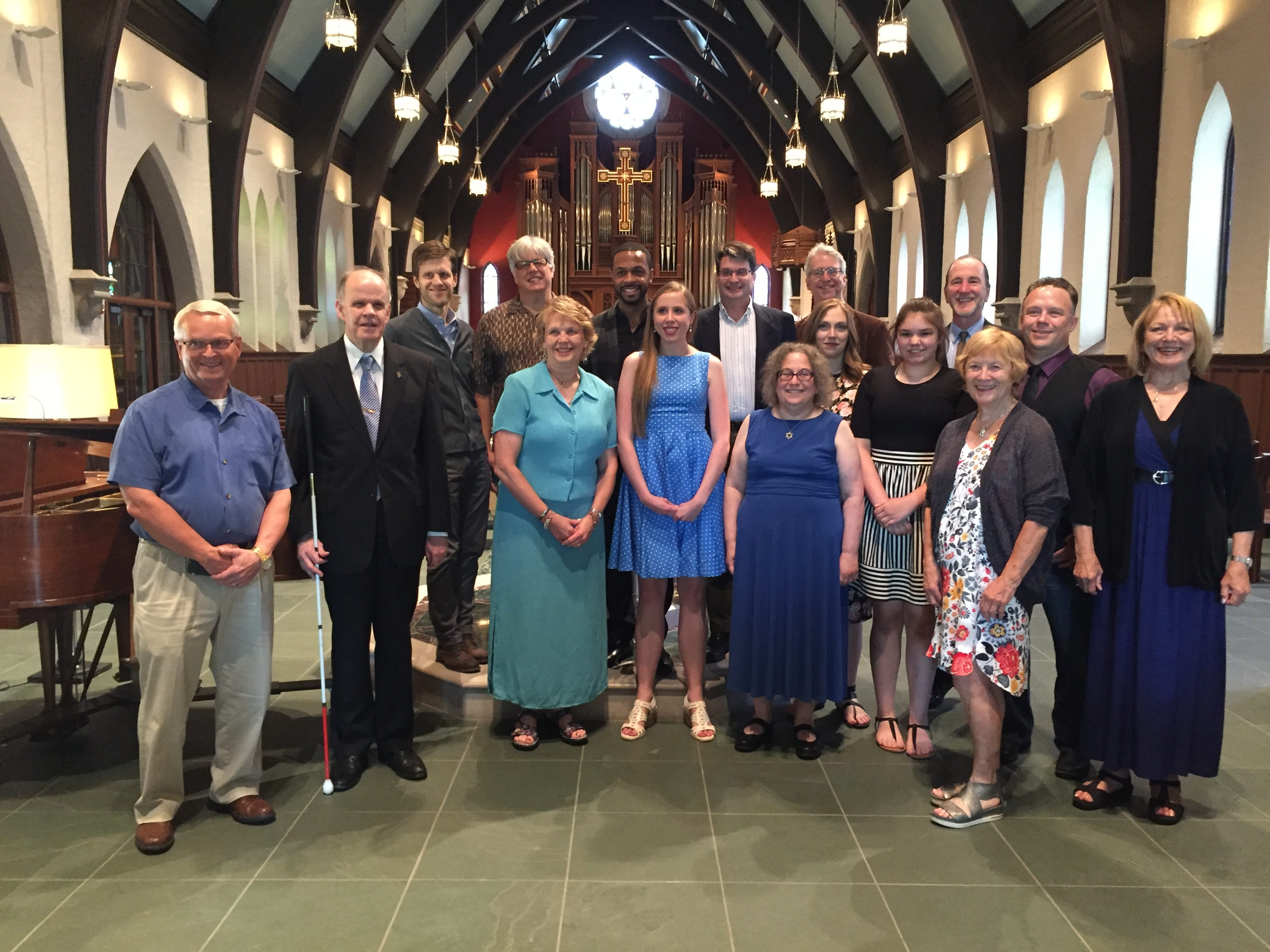 Spring Studio Recital at St. Paul's Episcopal Church 2018 and Party at the Indy Home Studio