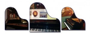 3 pianos