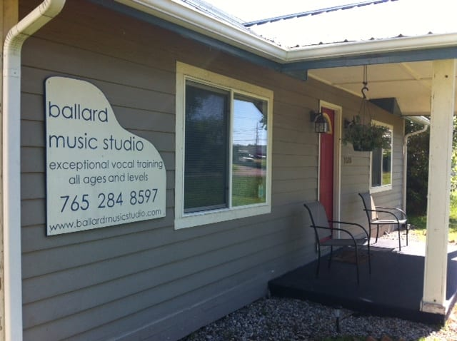 Ballard Music Studio Muncie Front