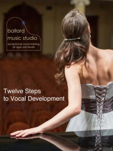 12 Steps to Vocal Development cover