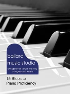 15 Steps to Piano Proficiency cover page